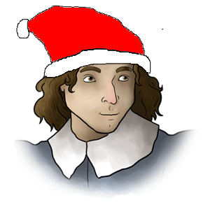 Have you been naughty? Santagnan challenges you to a duel!